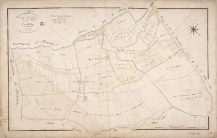 Cadastre de Griselles de 1832 - Section G1 - Corbelin