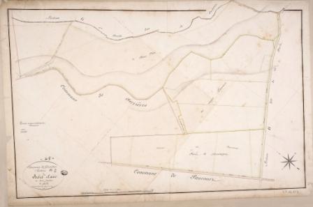Cadastre de Griselles de 1832 - Section G2 - Bois Clair