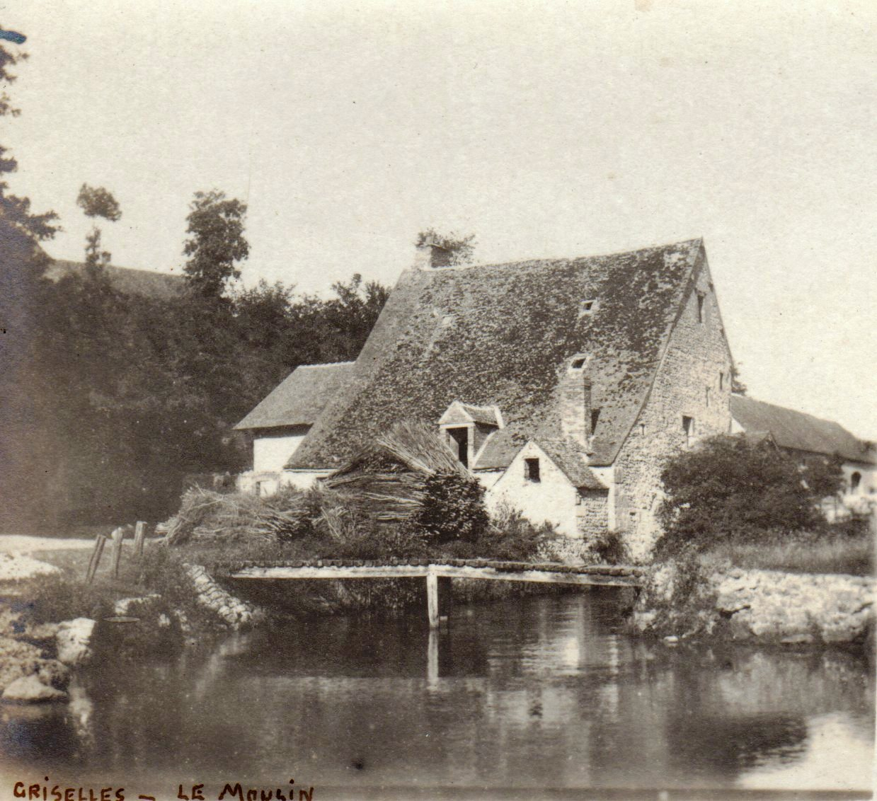 Passerelle du Moulin Tosset