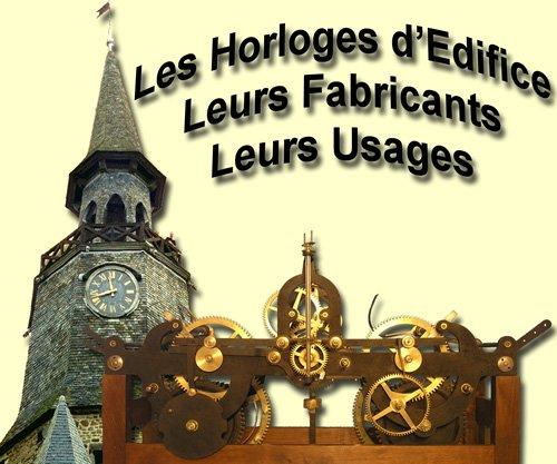 Logo site Horloges d`édifice