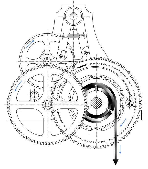 mouvement d horloge canham